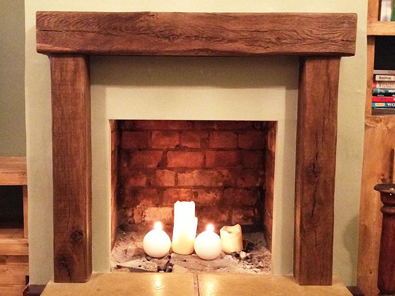 Oak Fireplace Beams Beam UK