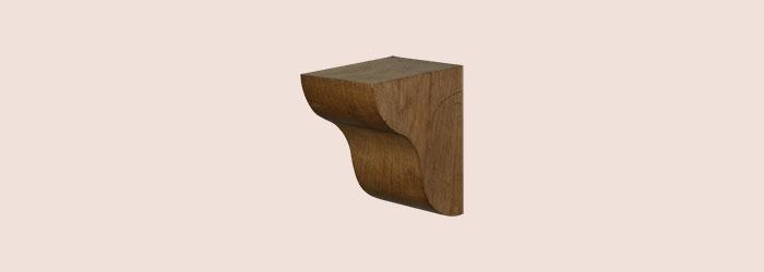Medium Oak Corbel - oakcorbelMD