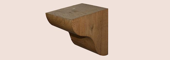 Extra Large Oak Corbel - oakcorbelXLG